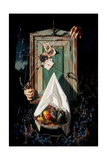 The Magicians Cabinet Giclee Print by Bob Byerley