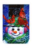 The Snowy Night Giclee Print by David Galchutt