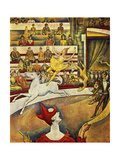 Seurat - Circus Horse Rider - Giclee Baskı