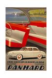 Panhard Auto Giclee Print