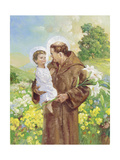 St Francis Giclee Print by Hal Frenck
