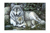 Tender Moment Giclee Print by Jenny Newland