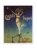 Sirius Cycles Giclée-tryk