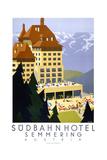 Sudbahn Hotel - Summer Giclee Print