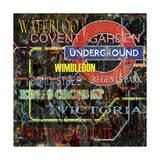 Underground Giclee Print by Karen Williams