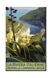 Trav Riviera Italienne Giclee Print