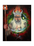 The Power of Odin Giclee Print by Sue Clyne