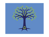 Tree of Life Giclee Print by Steven Wilson