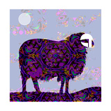 Sheep Giclee Print by Teofilo Olivieri