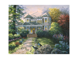 Victorian Interlude Giclee Print by Nicky Boehme