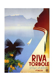 Riva Torbole Giclee Print