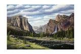 River of Mercy Lámina giclée por R.W. Hedge