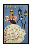 Spain lamps Giclee Print