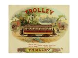 Trolley Cigars Giclee Print