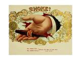 Smoke Cig Giclee Print
