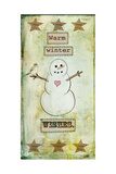Warm Winter Wishes Giclee Print by Tammy Kushnir
