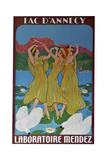 Three Woman poster Giclee Print