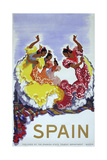 Spain Ladies Giclee Print