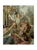 Thrill Show Giclee Print by Bob Byerley