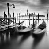 Venice Gondolas Fotodruck von Nina Papiorek