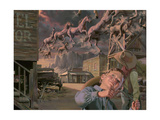 Thunder Alley Giclee Print by Bob Byerley