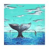 Whale Tail - Better Wydruk giclee autor Megan Aroon Duncanson