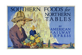 Southern Foods Giclee Print