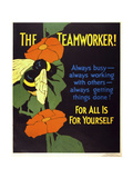 The Teamworker! Giclee Print