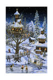 Woodland Holiday Giclee Print by Jeff Tift