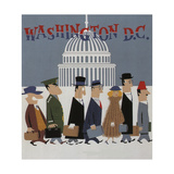 Washington DC Giclee Print