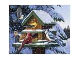 Winter Feast Impression giclée par William Vanderdasson