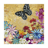 Whimsical Floral Collage 4-2 Giclee Print by Megan Aroon Duncanson