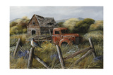 Well Worn Perch Giclee Print by Trevor V. Swanson