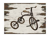 Vintage Bicycle Giclee Print by Karen Williams