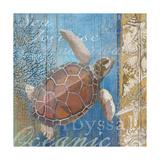 Turtle and Sea Giclee Print