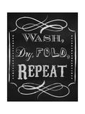 Wash Dry Gicléedruk van Tina Lavoie