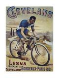 Vintage Bicycle Giclée-Druck