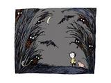 Spooky Giclee Print by Carla Martell