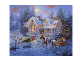 Welcome Home Giclee Print by Nicky Boehme