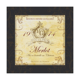 Wine Label 6 Giclee Print by Fiona Stokes-Gilbert