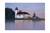 Whiskey Point Lighthouse Giclee Print by Rusty Frentner