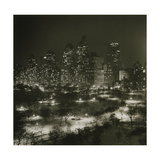 Winter Central Park Giclee Print