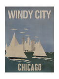 Windy City Giclee Print