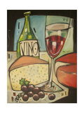 Wine and Cheese Please Giclee Print by Tim Nyberg