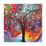 Snow Fall Giclee Print by Megan Aroon Duncanson