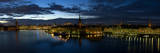 Stockholm by Night Photographic Print by Maciej Duczynski