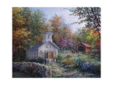 Nicky Boehme - Worship in the Country - Giclee Baskı