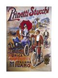 Vintage Bicycle Lámina giclée