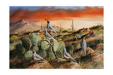 Sunset in Spring Impression giclée par Trevor V. Swanson