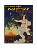Waterman Pen Giclee Print